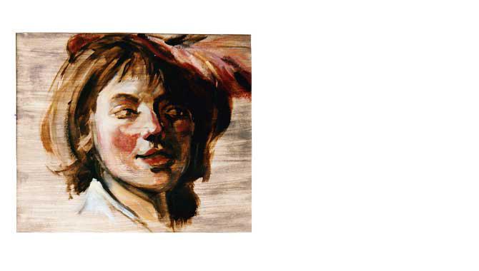 Studie naar Frans Hals